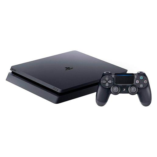 PS4 - Consola PlayStation 4 Slim 500 GB Black