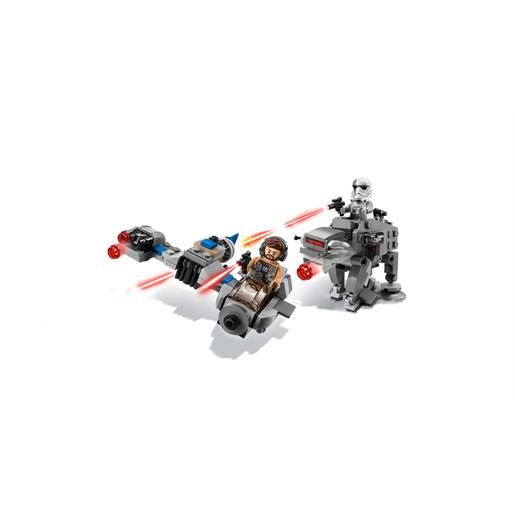 LEGO Star Wars - Ski Speeder contra Walker da Primeira Ordem Microfighters - 75195