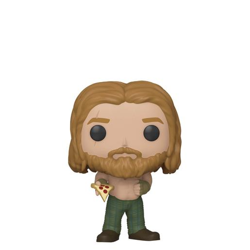 Los Vengadores - Thor Bobble-Head Endgame con Pizza - Figura Funko POP