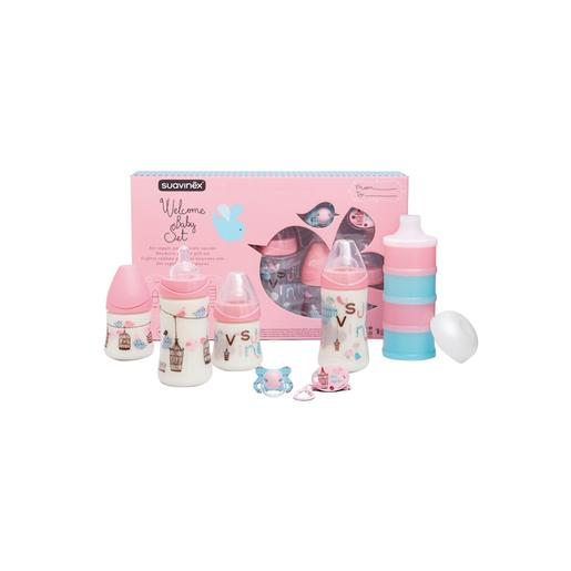 Suavinex - Set Welcome Baby 2- 4 meses Rosa