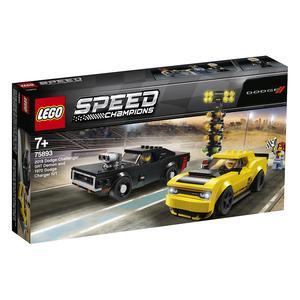 LEGO Speed Champions - 2018 Dodge Challenger SRT Demon e 1970 Dodge Charger R/T - 75893