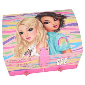 Top Model - Fergie e Candy - Guarda-Joias Grande com Código e Música