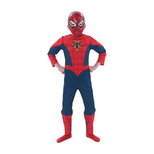 Spider-Man - Disfarce Spider-Man Musculoso 7-8 anos