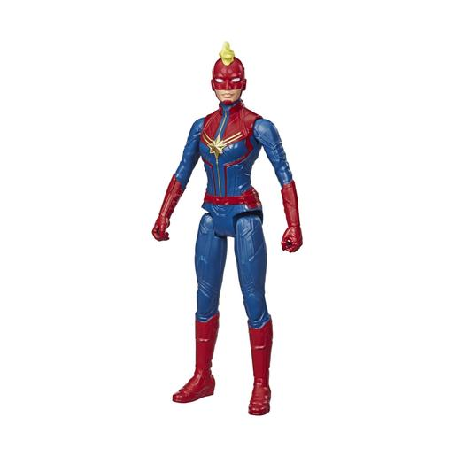 Os Vingadores - Figura Titan Hero Captain Marvel