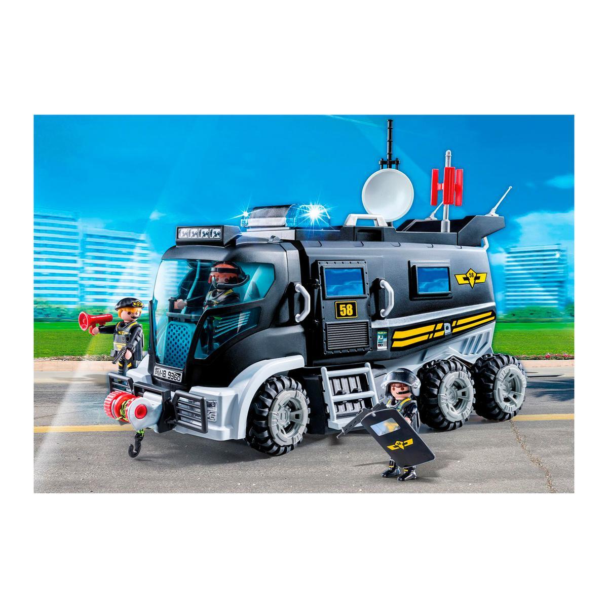 Playmobil Veículo com Luz LED e Som 9360