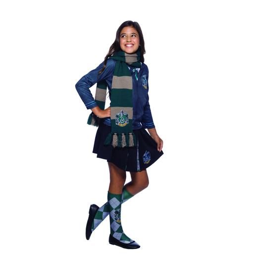 Harry Potter - Cachecol Infantil Deluxe Slytherin