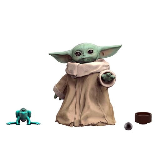 Star Wars - Baby Yoda The Child - Pack Figura 3 cm com Tijela e Bola
