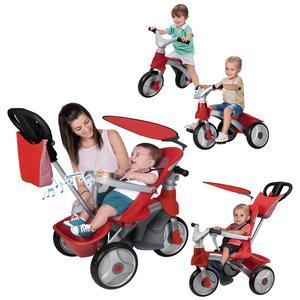 Feber Triciclo Easy Evolution 4 em 1 Red