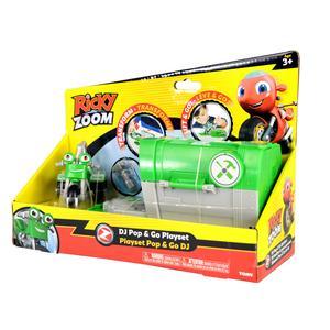 Ricky Zoom Push Pop Playset