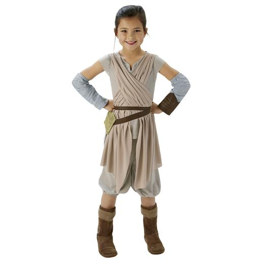 Star Wars - Disfarce Deluxe Rey 5-6 anos