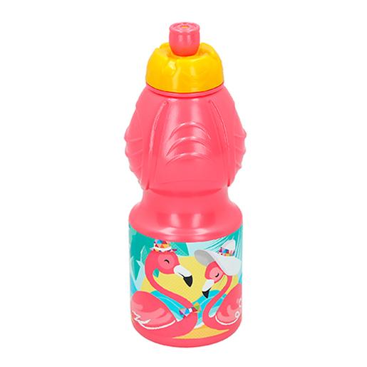 Botella Sport 400 ml Flamingo