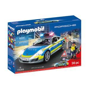 Playmobil Porsche - 911 Carrera 4S da Polícia - 70066