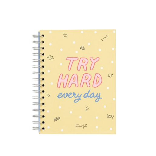 Mr. Wonderful - Try Hard Every Day - Caderneta