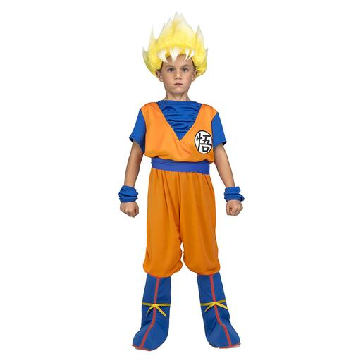 Dragon Ball - Disfarce Saiyan Goku 7-9 anos