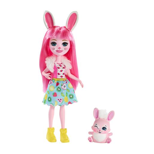 Enchantimals - Boneca com Mascote - Bree Bunny e Twist