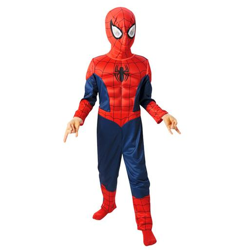 Spider-Man - Disfarce Infantil Ultimate Spider-Man Musculoso 8-10 anos