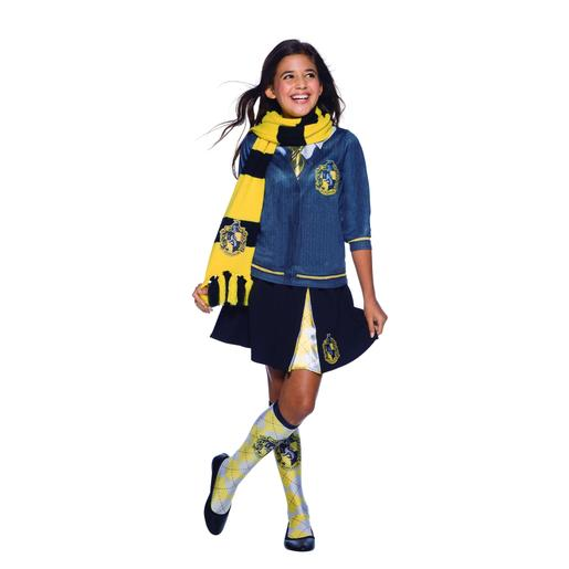 Harry Potter - Cachecol Infantil Deluxe Hufflepuff