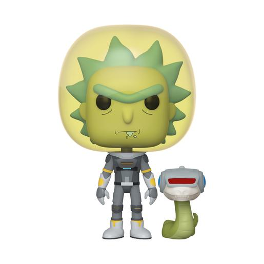 Rick e Morty - Rick Fato Espacial - Figura Funko POP