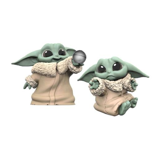 Star Wars - Baby Yoda The Child - Pack Figuras 6,3 cm Bola e Abraçar