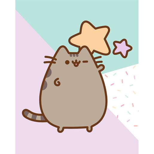 Pusheen - Canvas 20 x 25 cm Stars