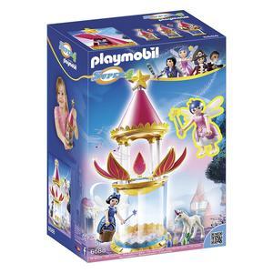 Playmobil Super 4 - Torre Flor Mágica com Caixa Encantada e Twinkle - 6688
