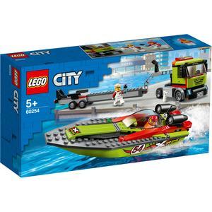 LEGO City - Transportador de Barcos de Corrida - 60254