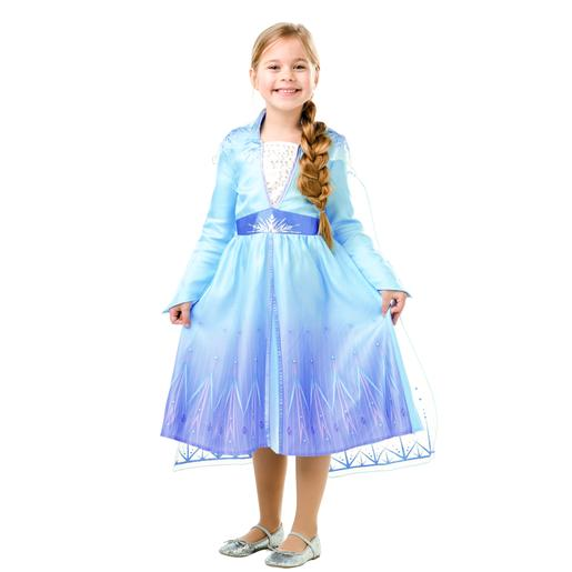 Frozen - Disfarce Infantil Elsa Travel Frozen II 7-8 Anos