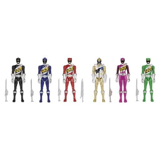 Power Rangers - Super Pack 6 Figuras