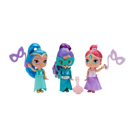 Fisher Price - Shimmer and Shine - Baile de Disfarces de Génios