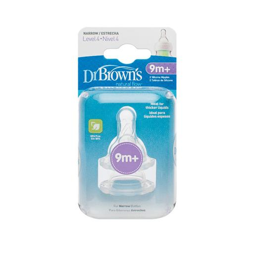 Dr. Brown's - Pack 2 Tetinas Options Regular Nível 4