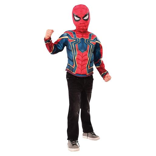 Spider-Man - Iron Spider - Disfarce Infantil 4-10 anos