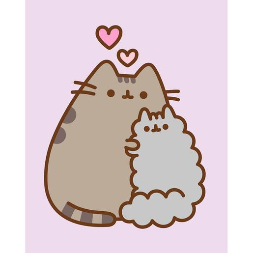 Pusheen - Canvas 20 x 25 cm Friends