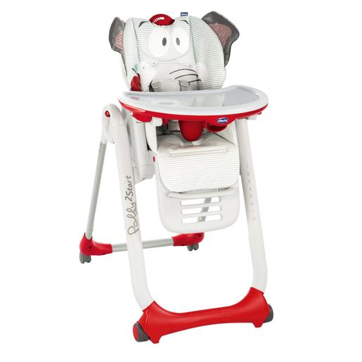 Chicco - Cadeira de Papa Polly 2 Start Baby Elephant