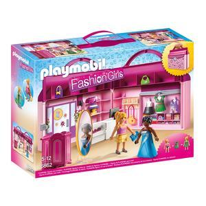 Playmobil Fashion Girls - Maleta Loja de Moda - 6862