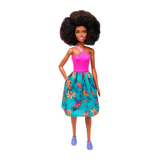 Barbie - Boneca Fashionista - Saia Tropical