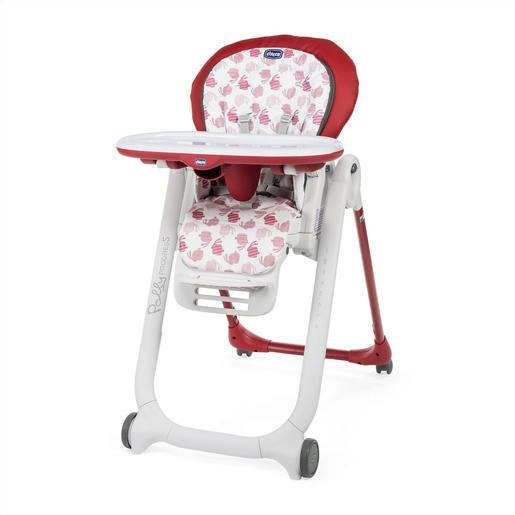 Chicco Cadeira Papa Polly Progres5 Edição Especial Red