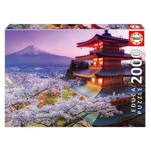 Educa Puzzle Mount Fuji, Japan 2000 Peças