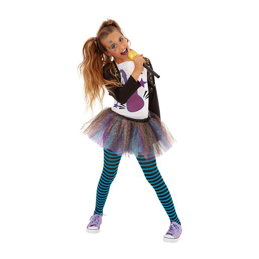 Disfarce Infantil - Bonnie B POP Girls Band 5-7 anos