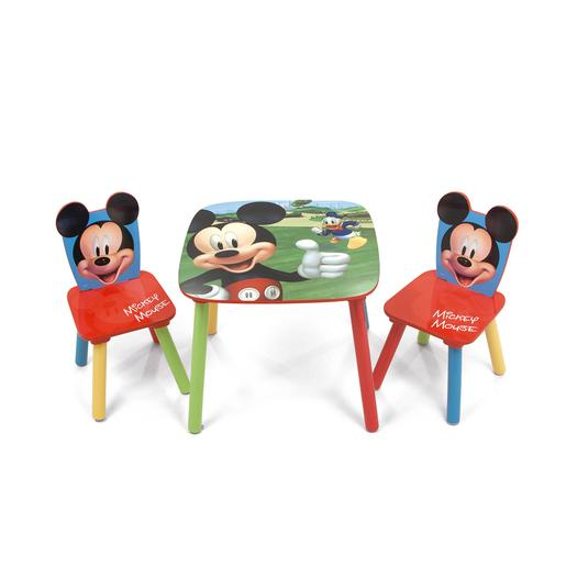 Mickey Mouse - Set de Mesa e Cadeiras