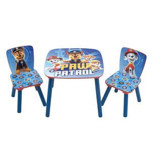 Patrulha Pata - Set de Mesa e 2 Cadeiras