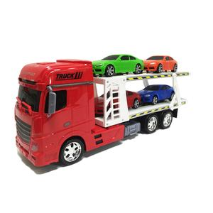 Camião Reboque de Transporte com Carros (várias cores)