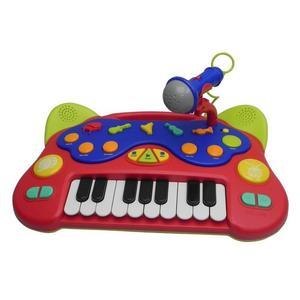 Teclado Musical Infantil con Microfone
