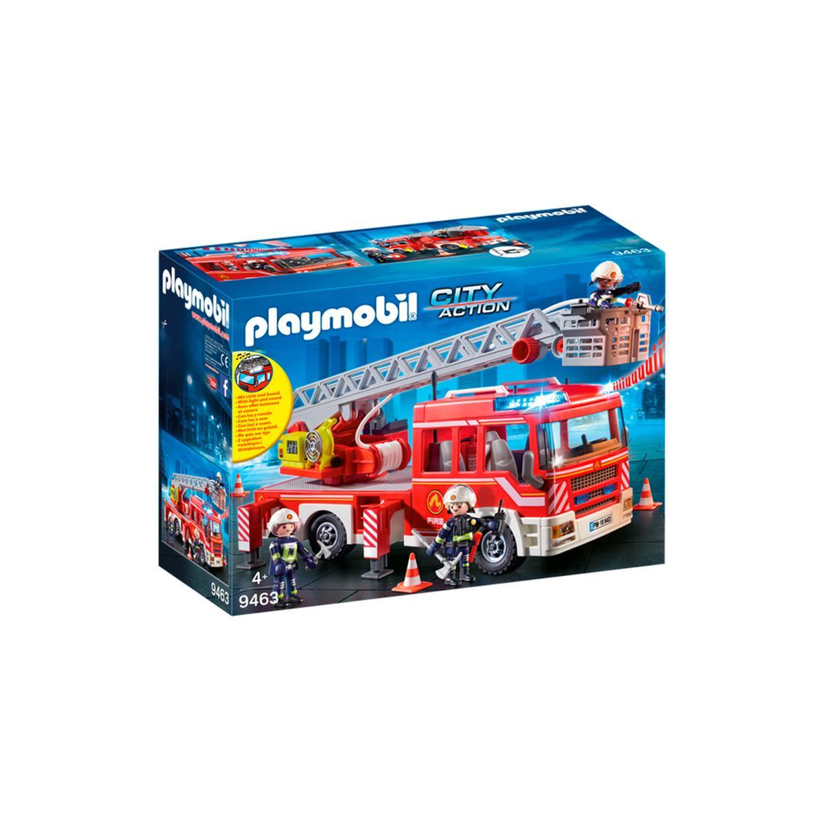 Playmobil Carro dos Bombeiros com Escada 9463