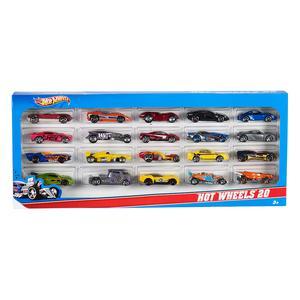Hot Wheels - Pack 20 Veículos (vários modelos)