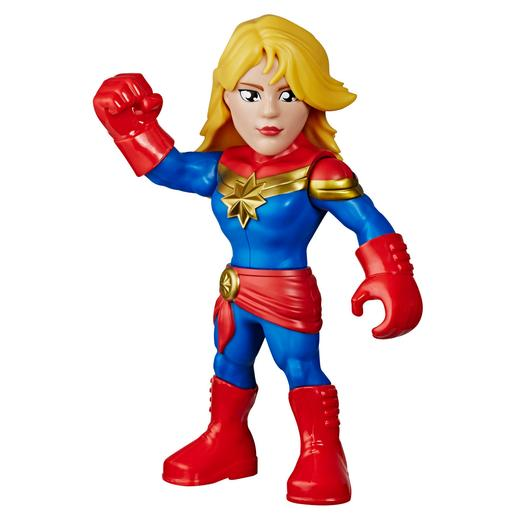 Capitán Marvel - Figura Super Hero Aventures Mega Mighties