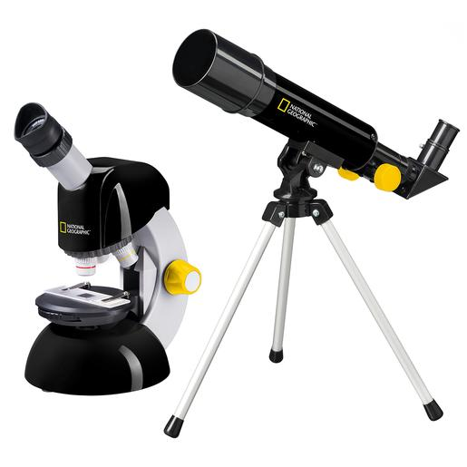 National Geographic - Set Telescópio 50 e Microscópio