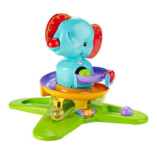 Fisher Price Silly - Elefante Lançabolas Safari Divertido