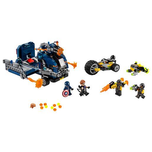 Lego Súper Heróis Ataque De Camião Dos Vingadores 76143 Lego Marvel Super Heroes Loja De Brinquedos E Videojogos Online Toysrus