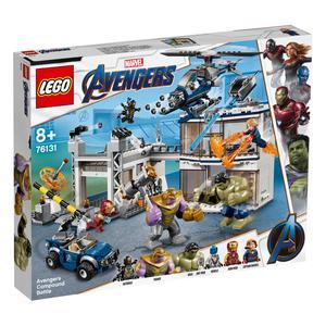 LEGO Marvel Avengers Movie 4 - O Combate no Quartel dos Vingadores - 76131