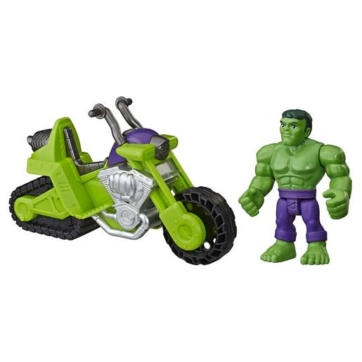 Marvel - Hulk e Mota Tanque Super Hero Adventures